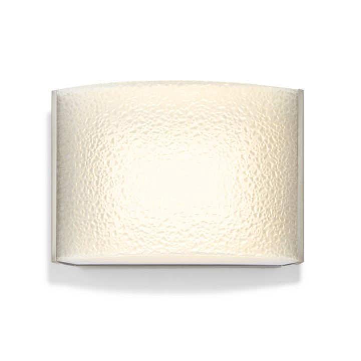 Lights.com   Wall Lights   Wall Sconces   Sloane Textured ... on Decorative Wall Sconces Candle Holders Chrome Nickel id=30762
