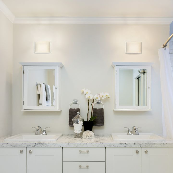 Lights.com   Wall Lights   Wall Sconces   Sloane Textured ... on Decorative Wall Sconces Candle Holders Chrome Nickel id=72145