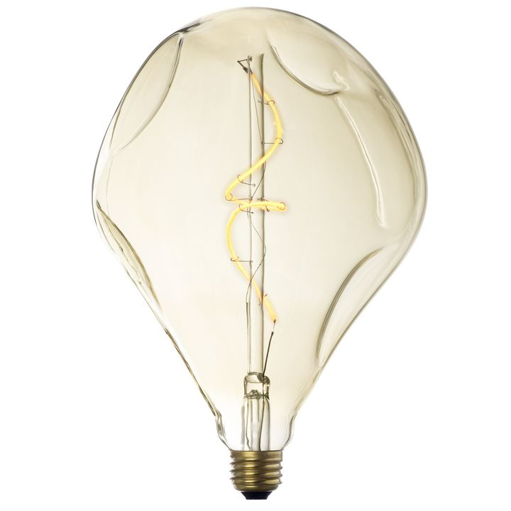 Metropolitan Antique-Glass LED Vintage Edison Bulb (E26), Single
