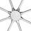 Arden 8-Light Chandelier, Polished Nickel