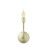 Arden Wall Sconce, Aged Brass