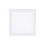 "Finn 9"" LED Square Glass Flush Mount, Polished Nickel"