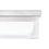 """Finn 9"""" LED Square Glass Flush Mount, Satin Nickel"""