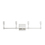 Kingston 4-Light Vanity, Satin Nickel