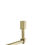 Closeout Kingston Mini 4-Light Chandelier, Aged Brass