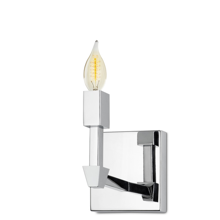 Kingston Wall Sconce, Polished Nickel