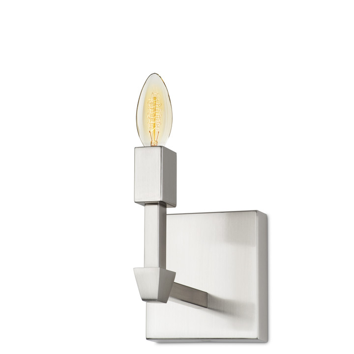 Kingston Wall Sconce, Satin Nickel