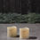 "Idlewild Outdoor 3""x3"" Candles, Set of 2"
