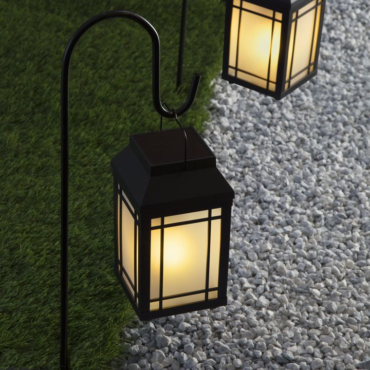 Ignis Solar Lanterns Set Of 2