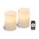 "Signature 4""x 6"" White Candles, Set of Two"