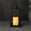 Velo Metal Lantern with Solar LED Candle, Medium