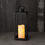 Velo Metal Lantern with Solar LED Candle, Large