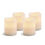 "Signature 3"" x 4"" White Candles, Set of Four"