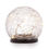 Avalon Solar Crackled Glass Globe - Small