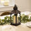 Dorothy Bronze Lantern with Candle