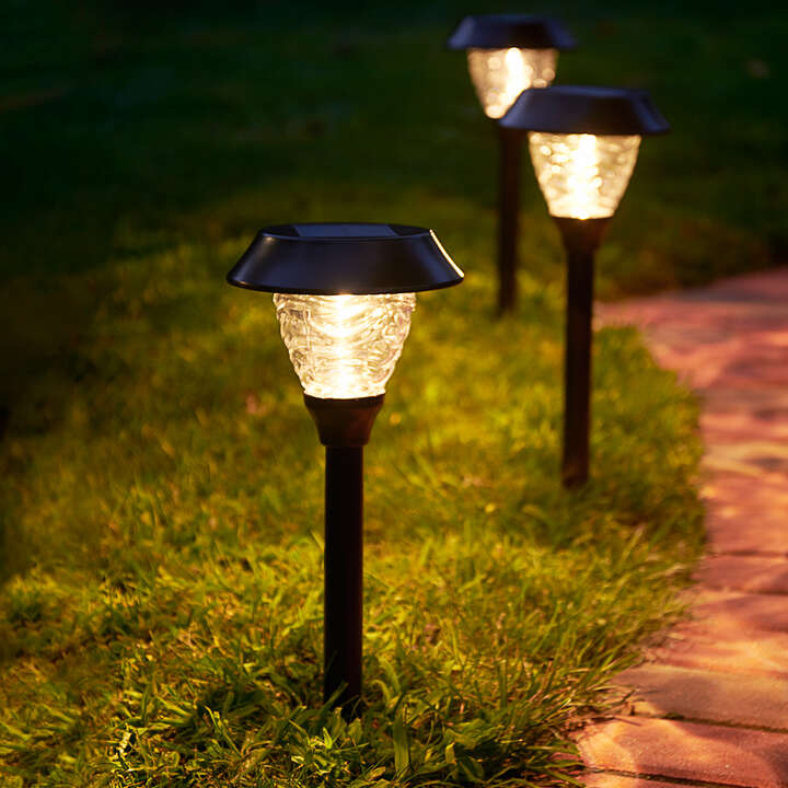 Solar Landscape Lighting, Outdoor Path Lights