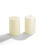 "Infinity Wick Collection - Ivory 4x6"" Candle Set of 2"