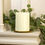 Infinity Wick Collection - 3-LED Ivory 6x8 Pillar Candle