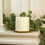 Infinity Wick Collection - 3-LED Ivory 6x6 Pillar Candle