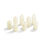 Infinity Wick Collection - Ivory Votive Candles, Set of 8