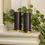Infinity Wick Collection - Warm Auburn Pillar Candles, Set of 2