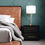 Laurel Glass Cylinder Table Lamp, Satin Brass