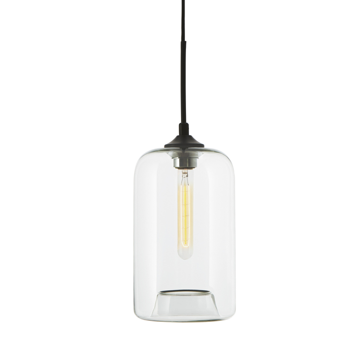 Windsor Heights Cylinder Glass Pendant