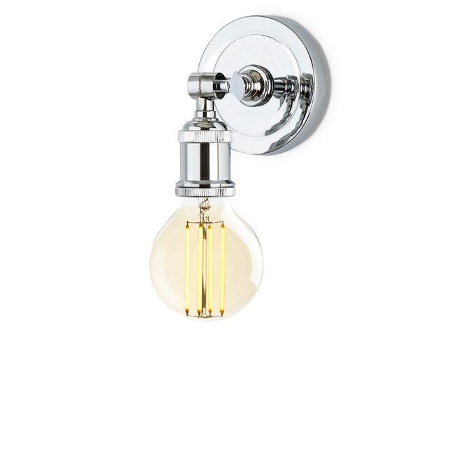 Alton Wall Sconce, Chrome
