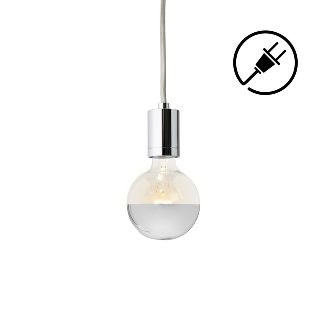 Arlo Plug-In Pendant, Chrome