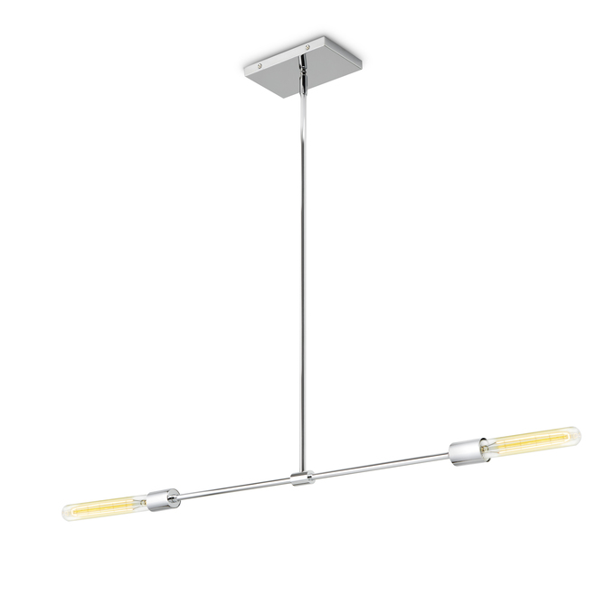 Prospect 2-Light Pendant, Chrome